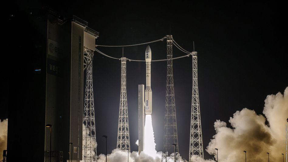 Acht Minuten nach dem Start kam die Rakete vom Kurs ab – die Ladung gilt als verloren