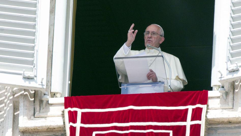 Papst Franziskus in Rom: Es reicht nicht, Mut und Geduld zu predigen