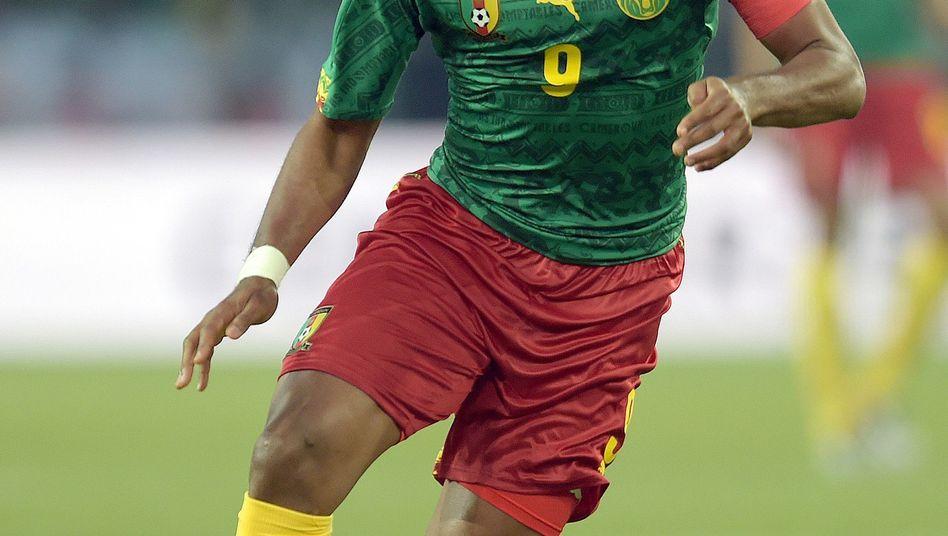 Fußball-Profi Eto'o: Zweijahresvertrag beim FC Everton