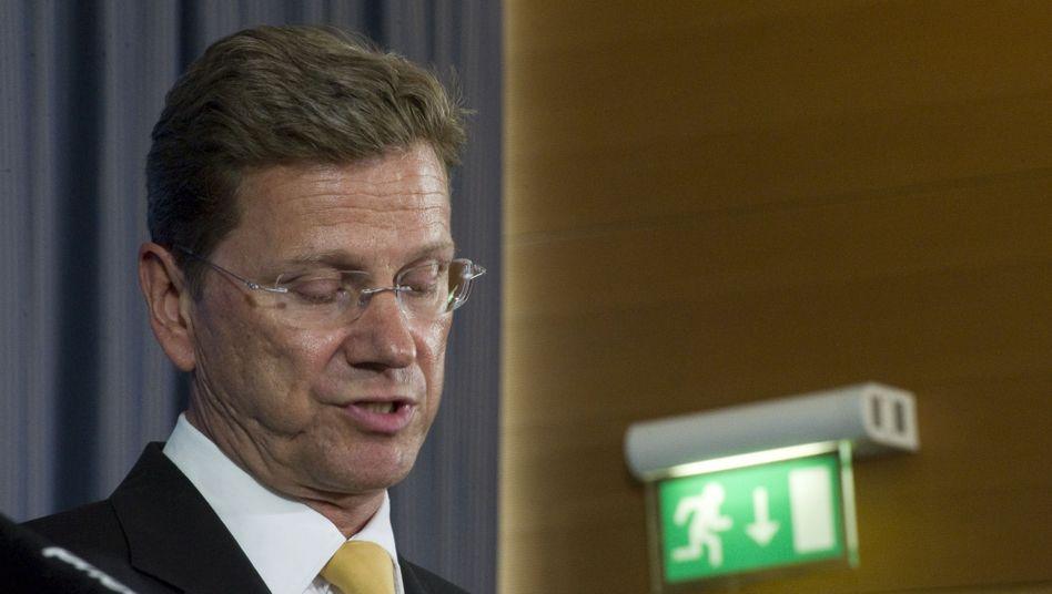 FDP-Chef Westerwelle: Unmutsbekundungen aus den eigenen Reihen