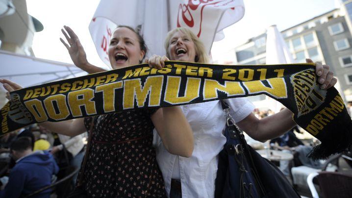 Dortmund im Titelrausch: Abfeiern im Autokorso