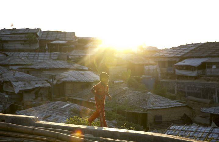 Fast 900.000 Menschen leben in den Flüchtlingslagern im Süden Bangladeschs