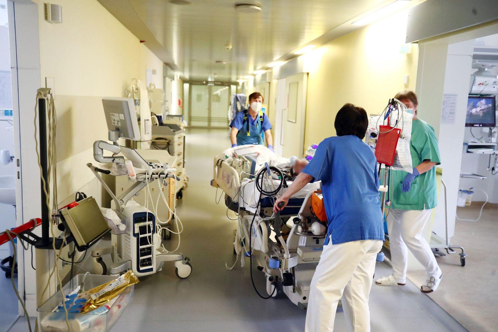 Coronavirus - Intensivstation in Thüringen