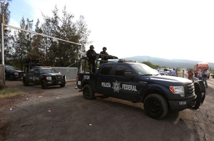 Polizeieinsatz im Mai 2015