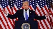 Trump reklamiert Wahlsieg – obwohl das Ergebnis nicht feststeht