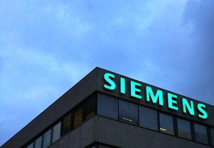 Siemens-Logo: Sonderlasten durch die Korruptionsaffäre