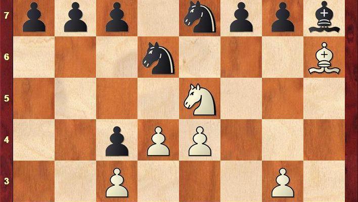 Partie zwischen Fabiano Caruana und Viswanathan Anand