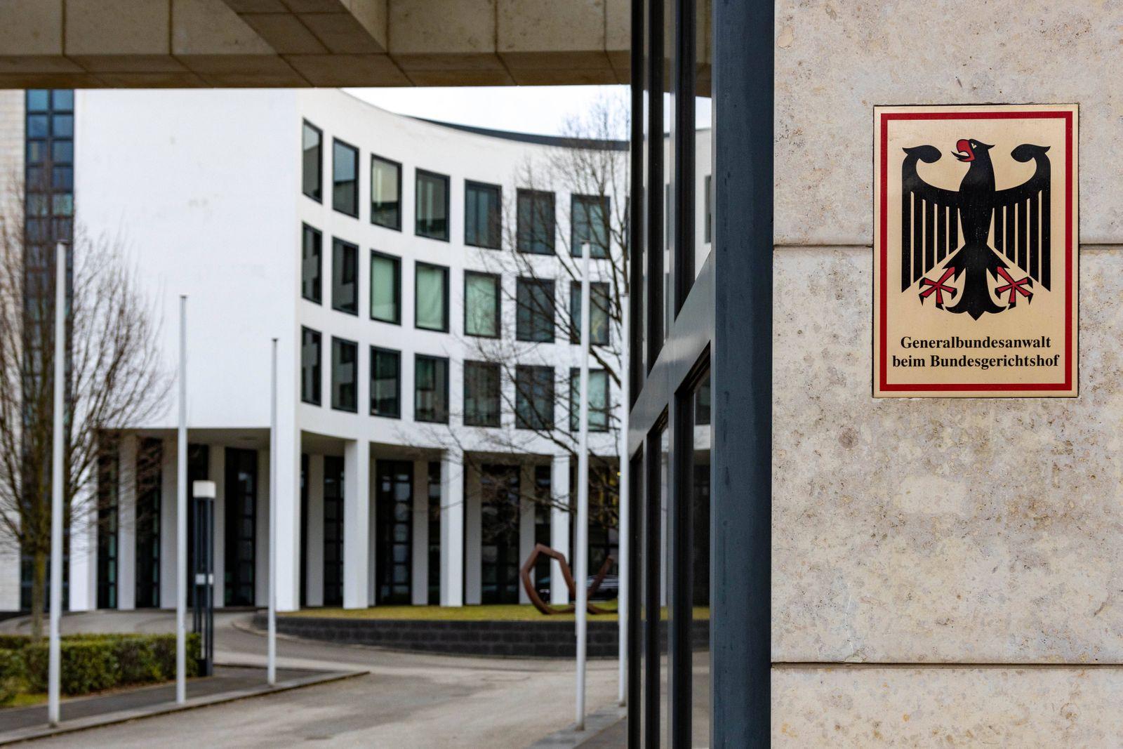 Generalbundesanwalt Generalbundesanwalt beim Bundesgerichtshof Karlsruhe *** Attorney General Attorney General at the Fe