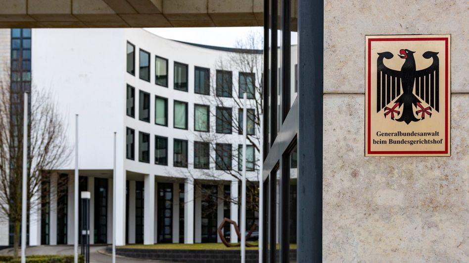 Bundesanwaltschaft in Karlsruhe.