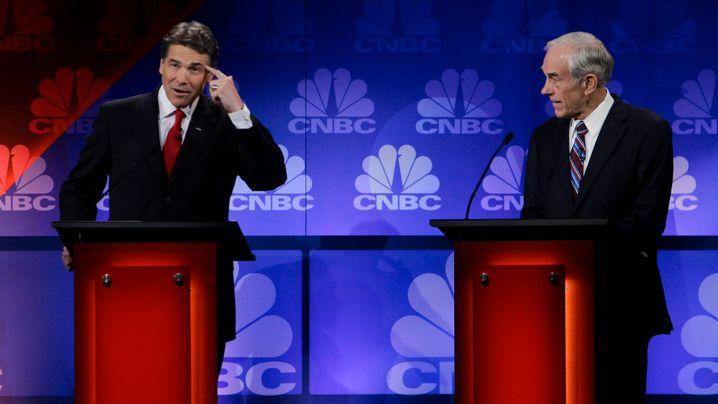 TV-Debatte der Republikaner: Perrys Patzer