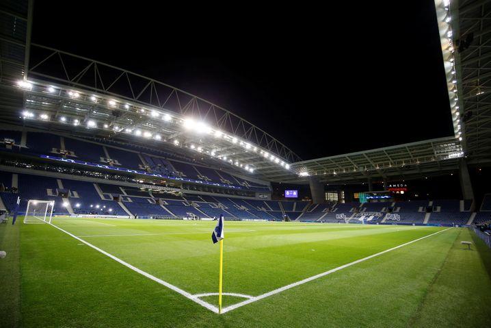 Im Estadio do Dragao in Porto wird nun das Champions-League-Finale ausgetragen