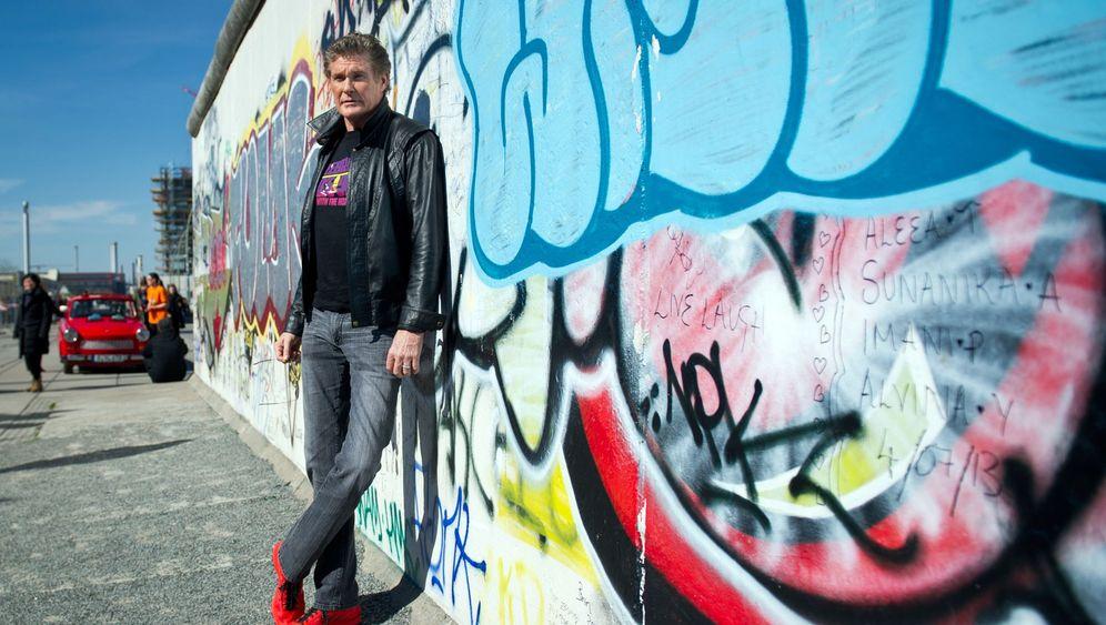 Berliner Mauer: David Hasselhoff kämpft gegen Hotelprojekt