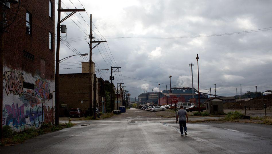 Straße im US-Bundesstaat Pennsylvania