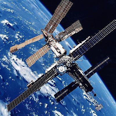 Die Raumstation Mir - Bald Ausflugsziel steinreicher Touristen?