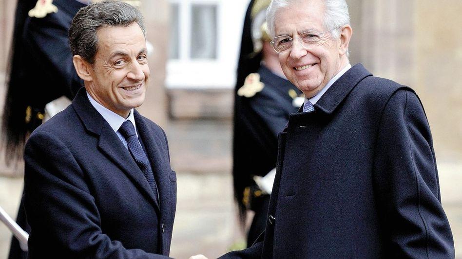 Präsident Sarkozy, Premier Monti: Politik nach Bismarck