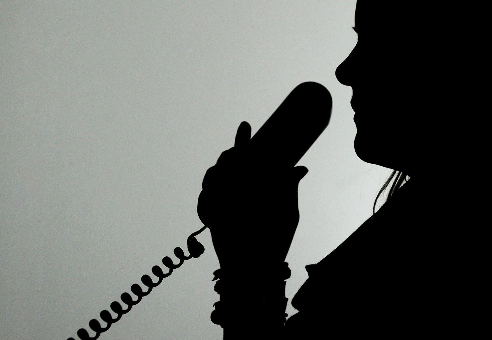 Telefon / Telefonhörer / Anruf / Festnetz