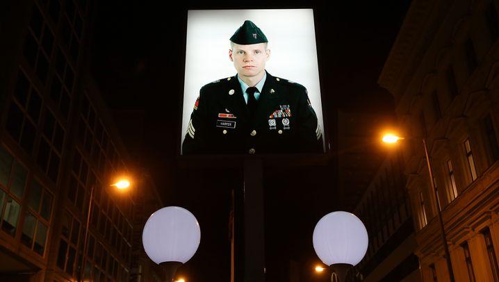 """US-Soldat Jeffrey Harper: """"In wie vielen Fotoalben ich wohl verewigt bin"""""""