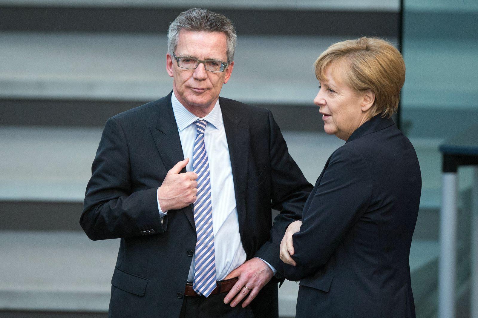 Merkel de Maizière