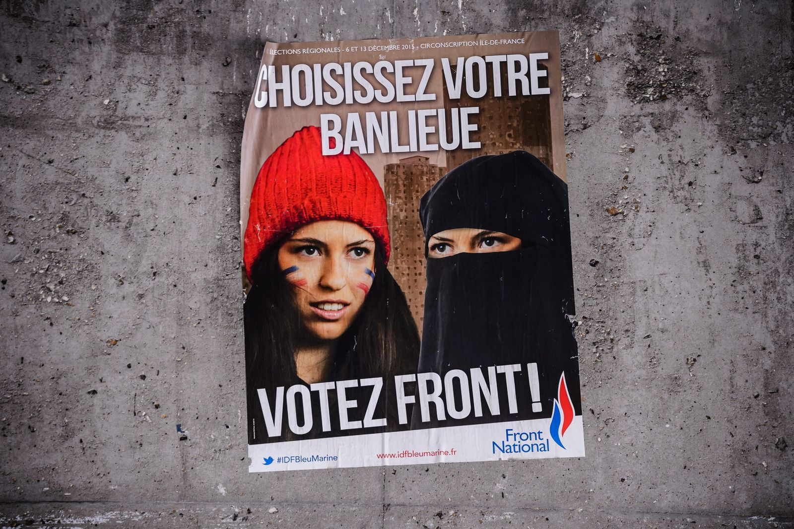 front national poster