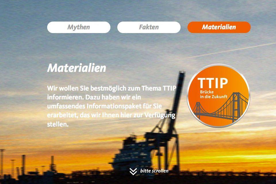 EINMALIGE VERWENDUNG CDU TTIP