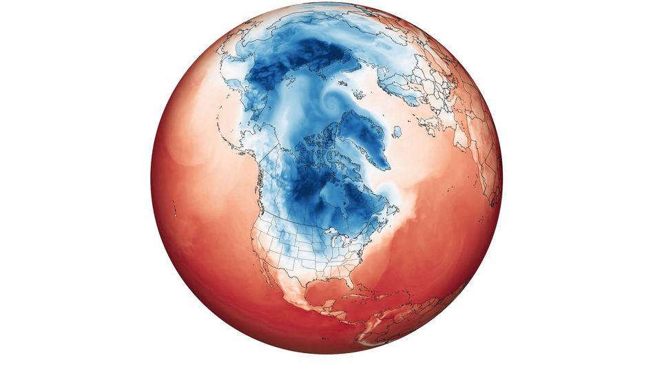 Lufttemperatur am 29. Januar 2019