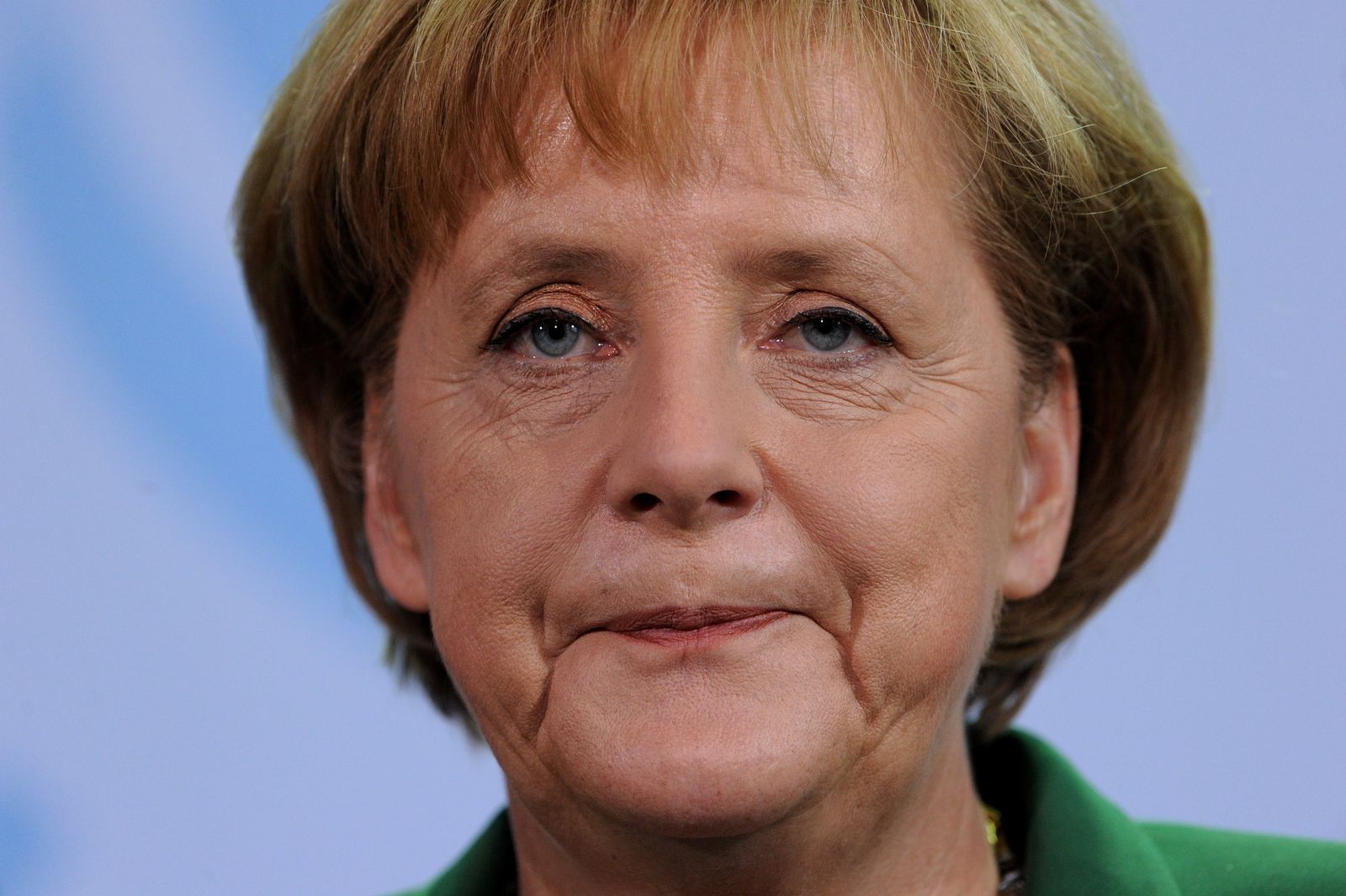 Merkel traurig
