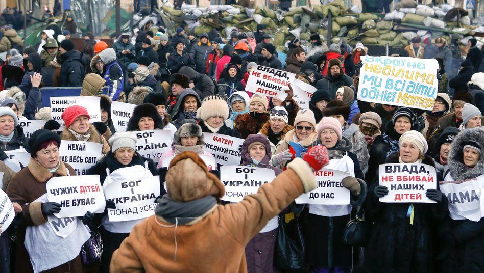 Proteste in der Ukraine: Auch in Minsk und Taschkent gibt es Solidarisierung