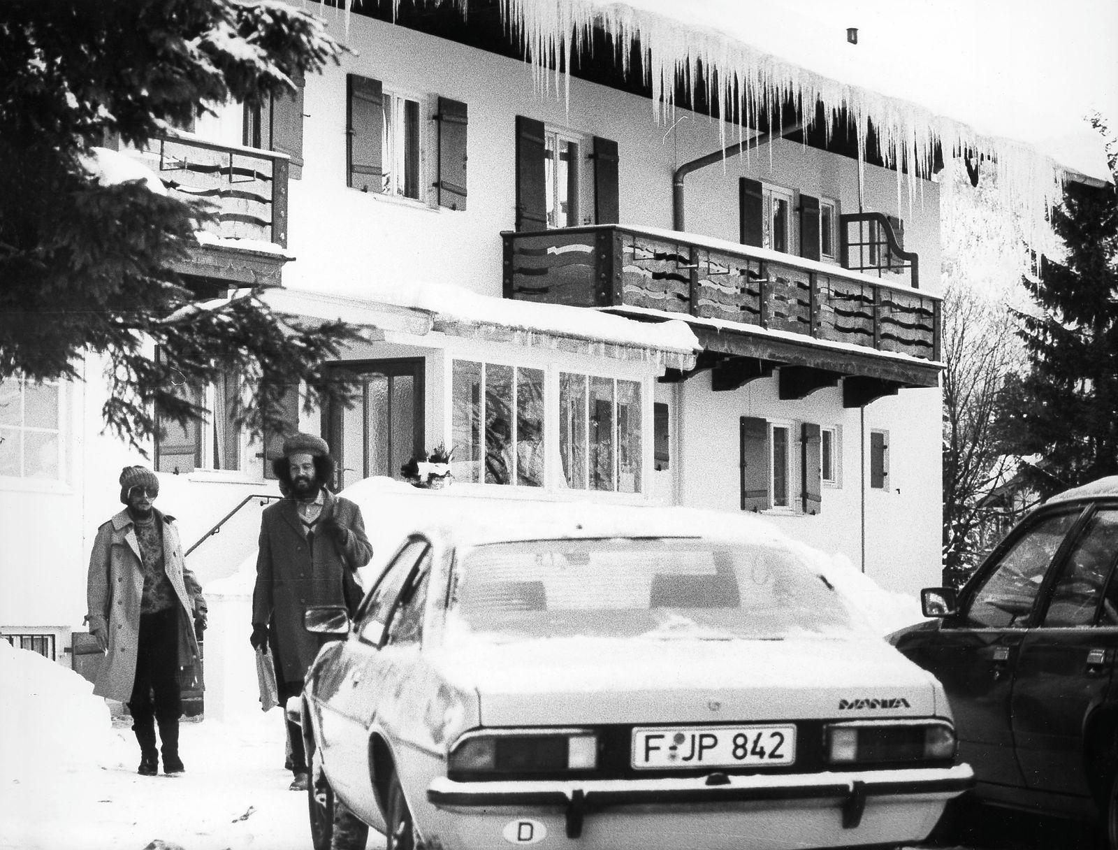Bob Marley in der Klinik von Dr. Josef Issels am Tegernsee, 1980