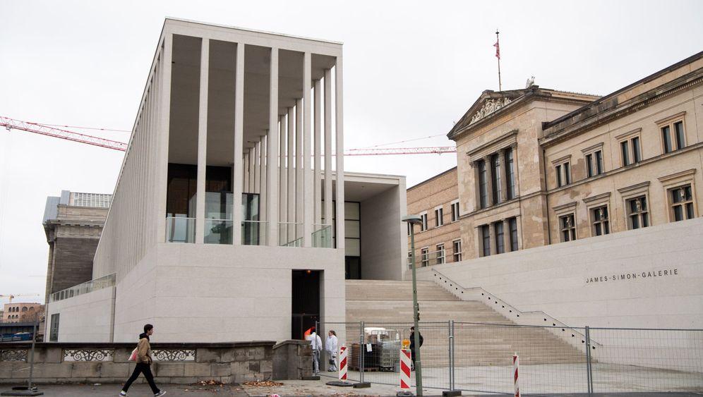 James Simon Galerie Berlin Empfang Zur Museumsinsel Fertig Der Spiegel
