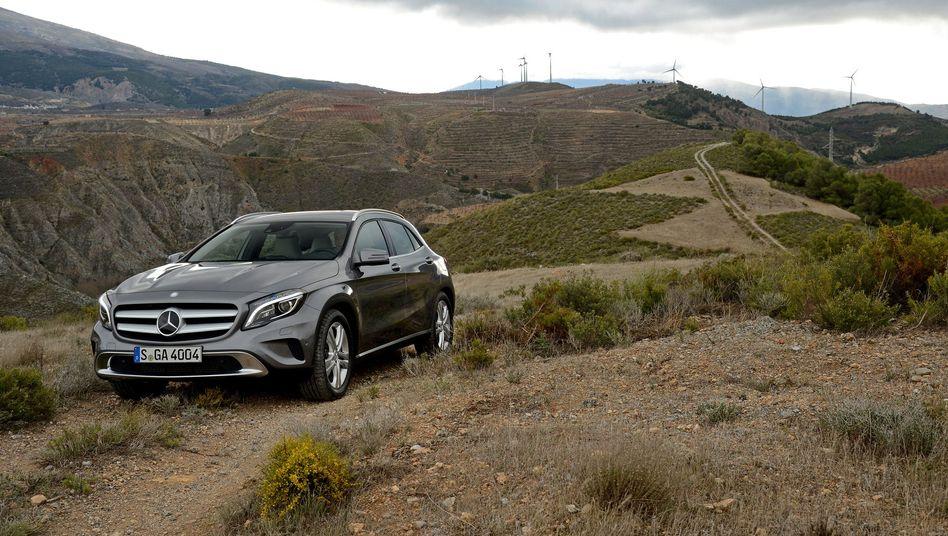 Mercedes GLA: Kein Gedicht für einen Geländewagen