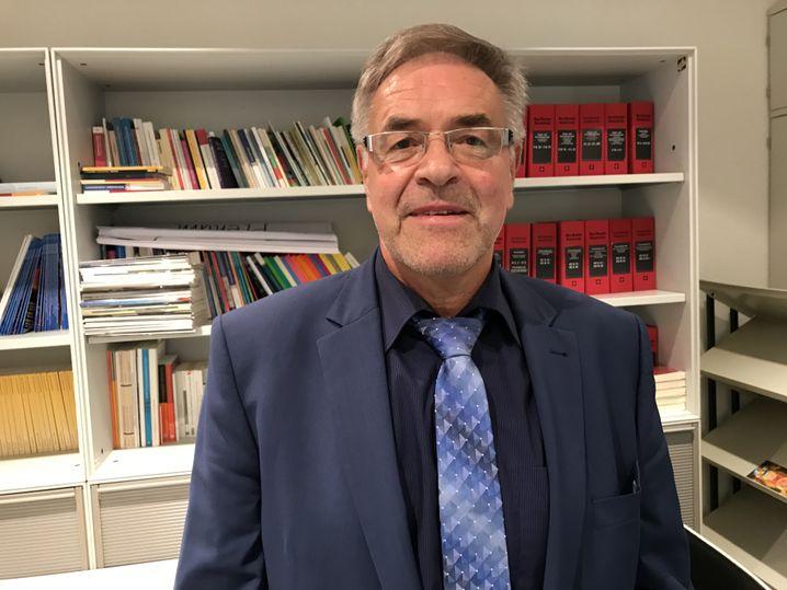 Linken-Abgeordneter Klaus Bartl (im sächsischen Landtag)