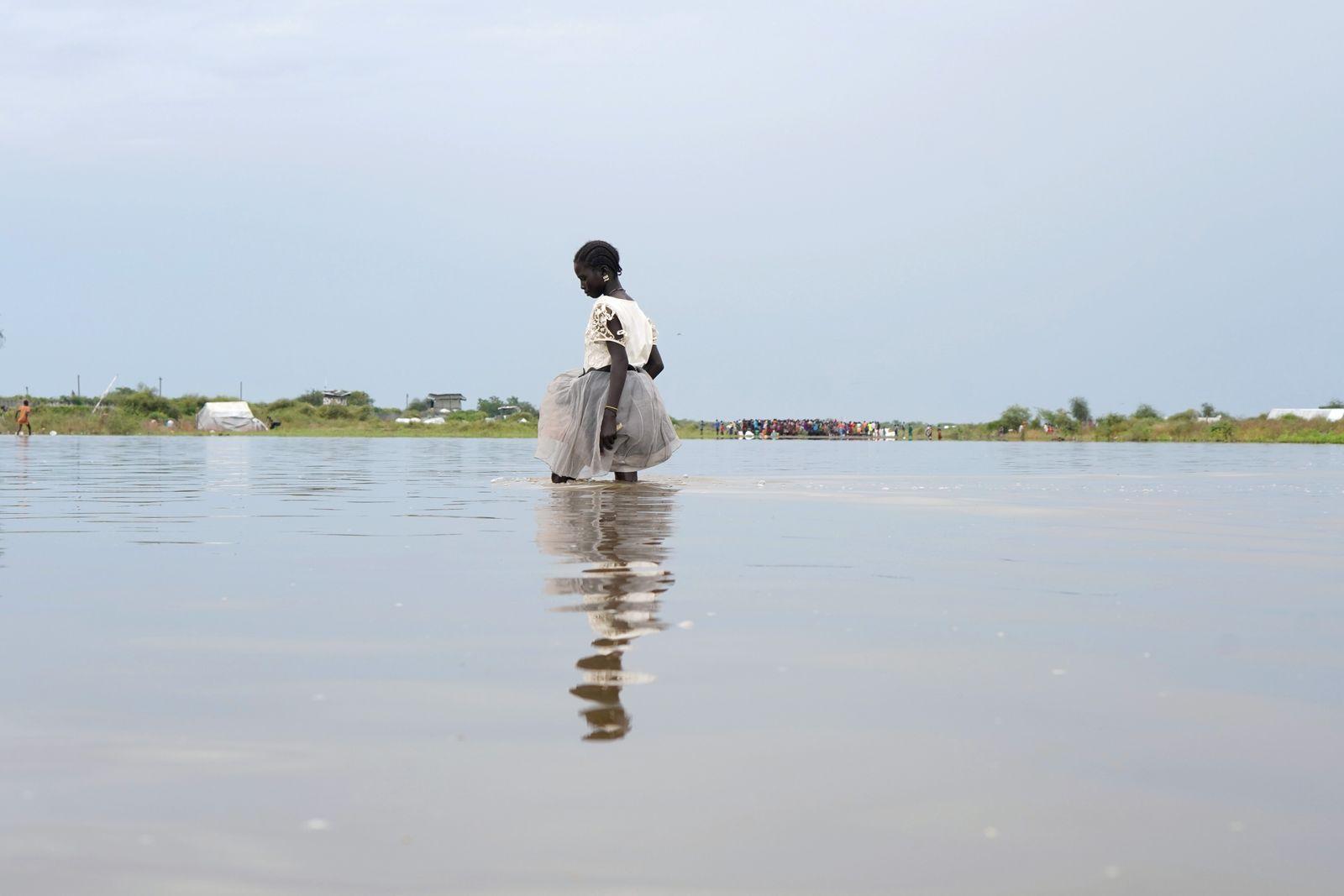 Flut/ Überflutung/ Südsudan 2019