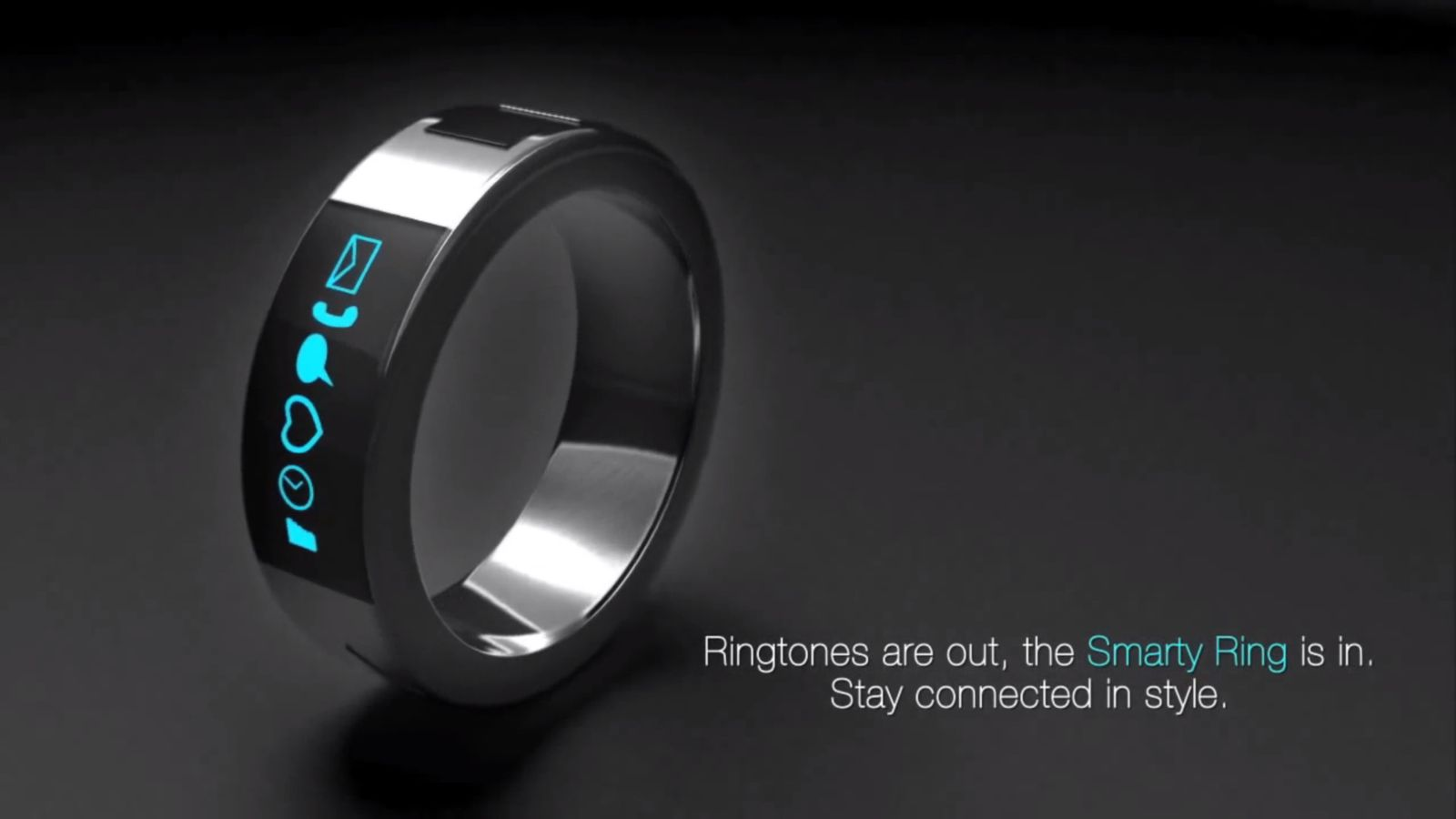 NUR ALS ZITAT Screenshot Smart Ring