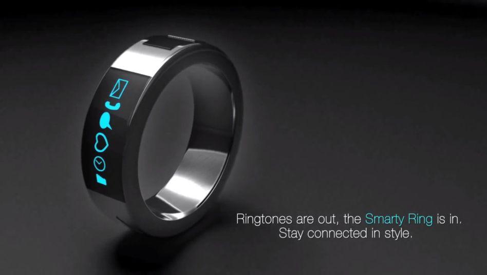 Smarty Ring: Handy-Fernsteuerung an Finger