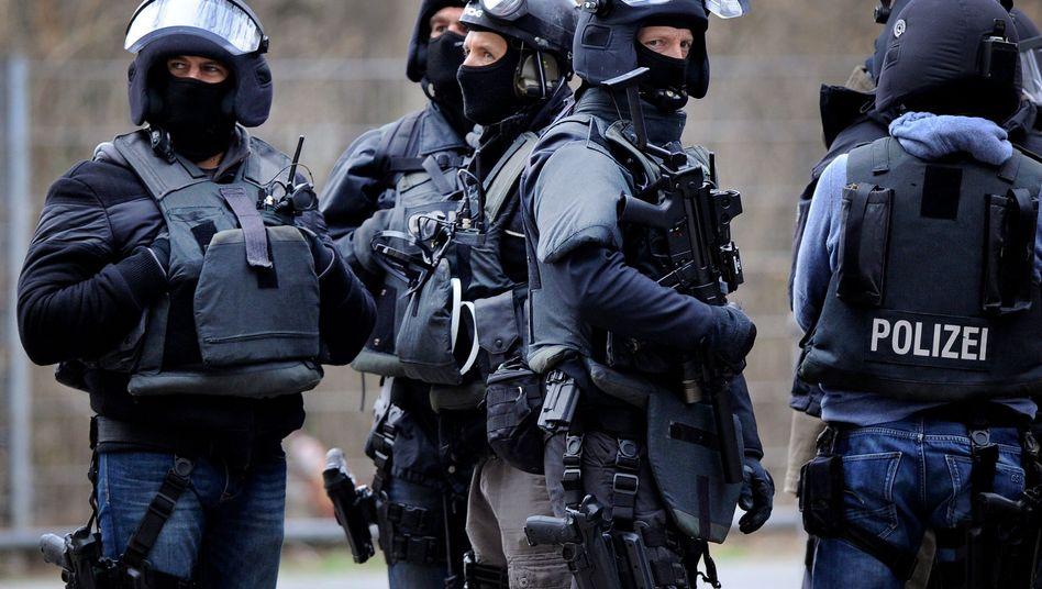 Spezialeinsatzkommando der Polizei (Symbolbild)