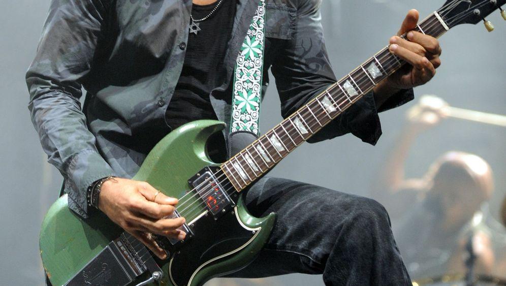 Lenny Kravitz: Rockstar bei der Arbeit