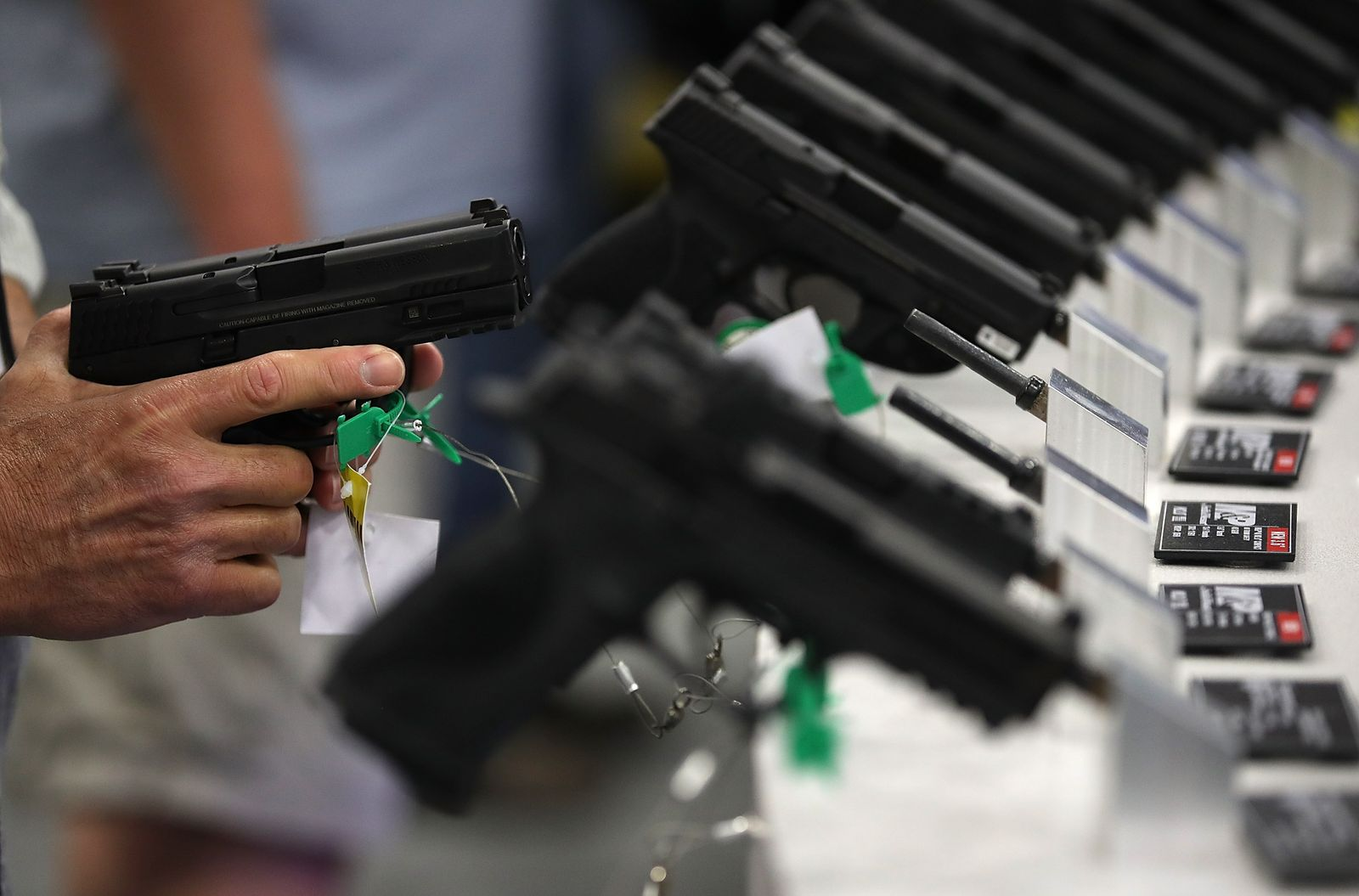 National Rifle Association Holds Its Annual Conference In Dallas, Texas