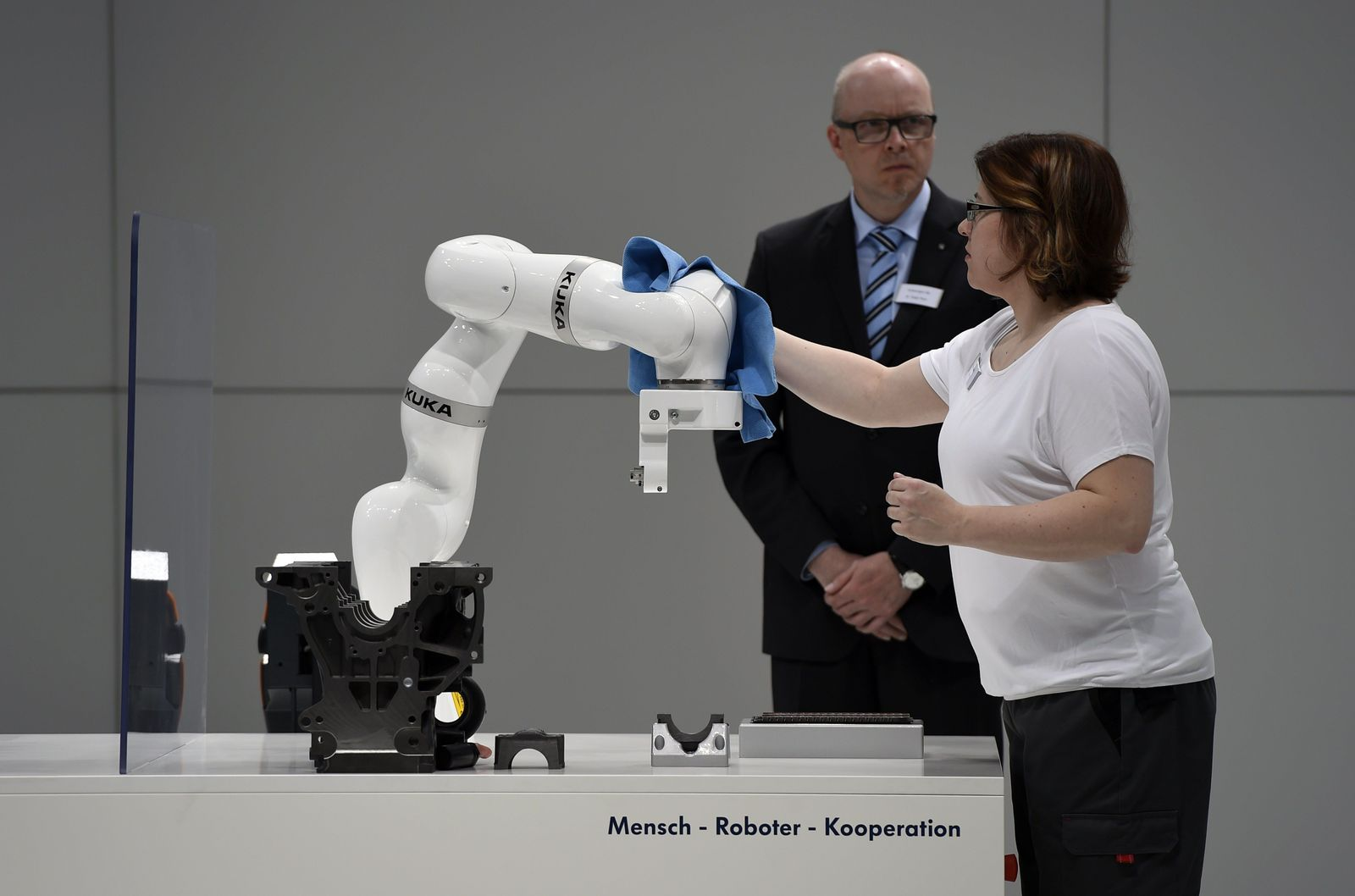 Hannover Messe Roboter