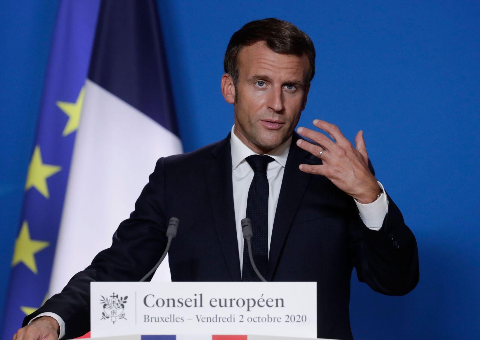 European Council meeting in Brussels, Belgium - 02 Oct 2020