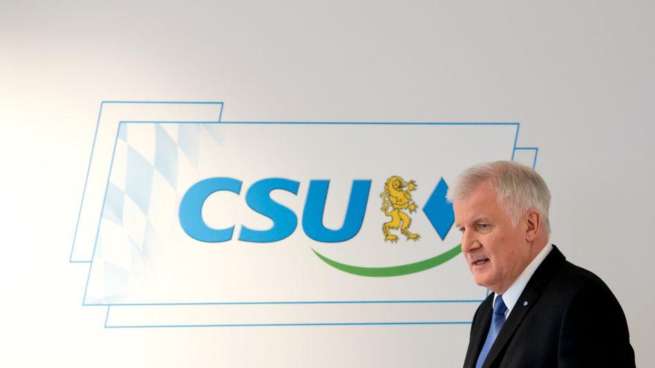 Bayerns Ministerpräsident Horst Seehofer: Konkrete Forderungen an die Kanzlerin