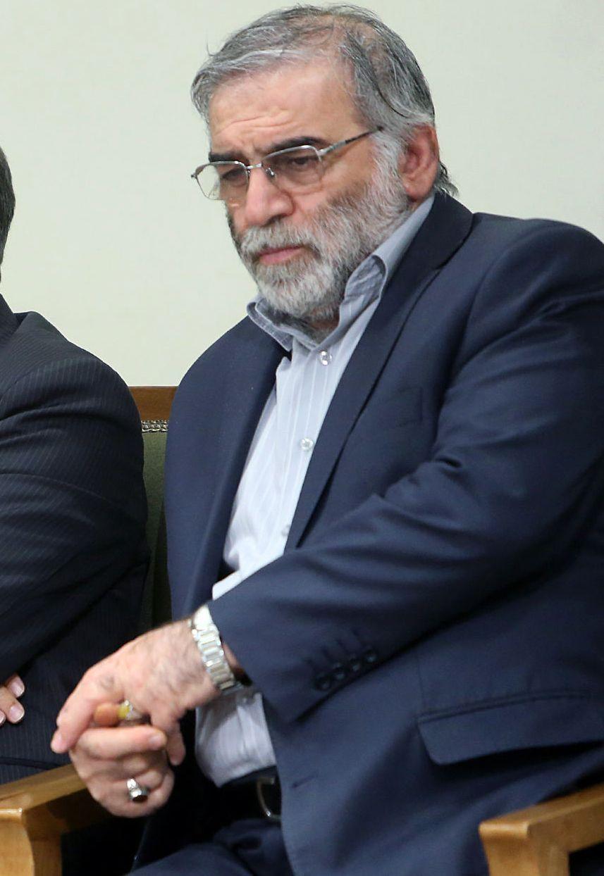 Top Iranian nuclear scientist Fakhrizadeh assassinated, Tehran, Iran Islamic Republic Of - 23 Jan 2019