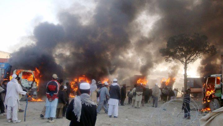 Koran-Verbrennung: Wütender Protest in Afghanistan