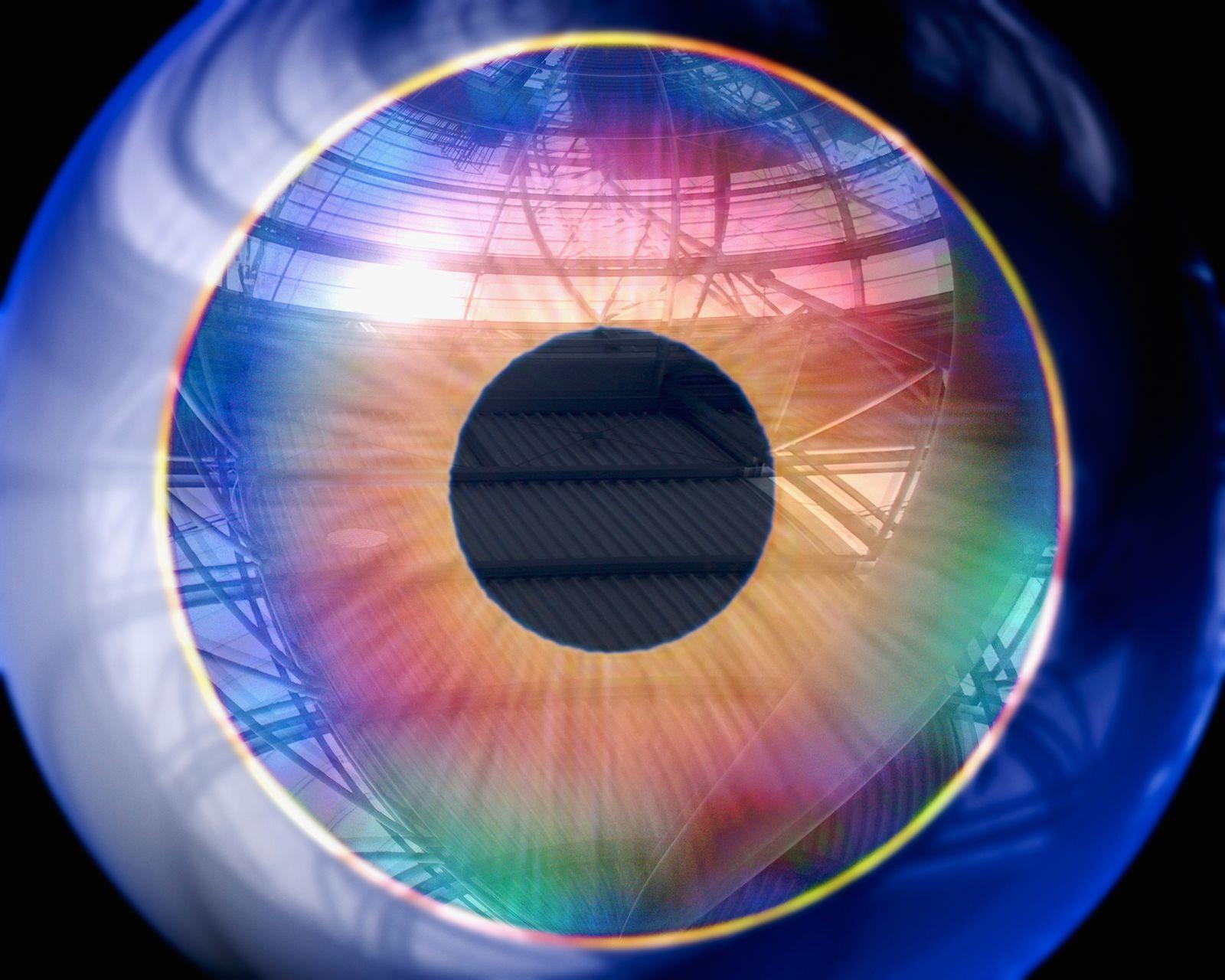 NICHT MEHR VERWENDEN! - Symbol/ Auge/ Iris/ RCS/ Glaskörper