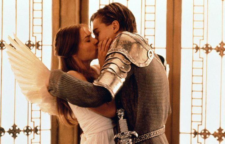 "Leonardo DiCaprio und Claire Danes in Baz Luhrmanns ""Romeo und Julia"""