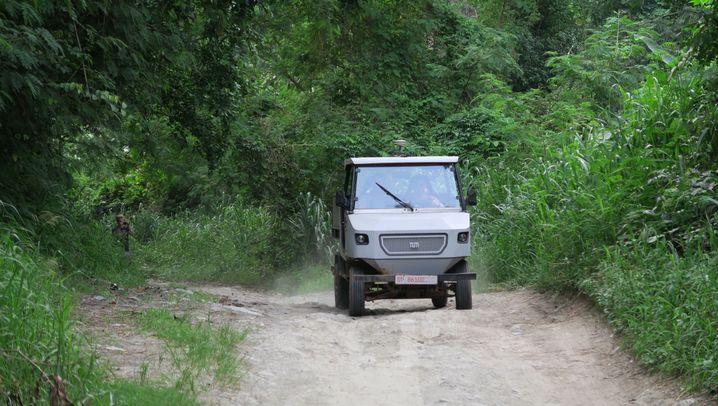 Elektro-Pritschenwagen für Afrika: Diese Vorteile bietet das aCar