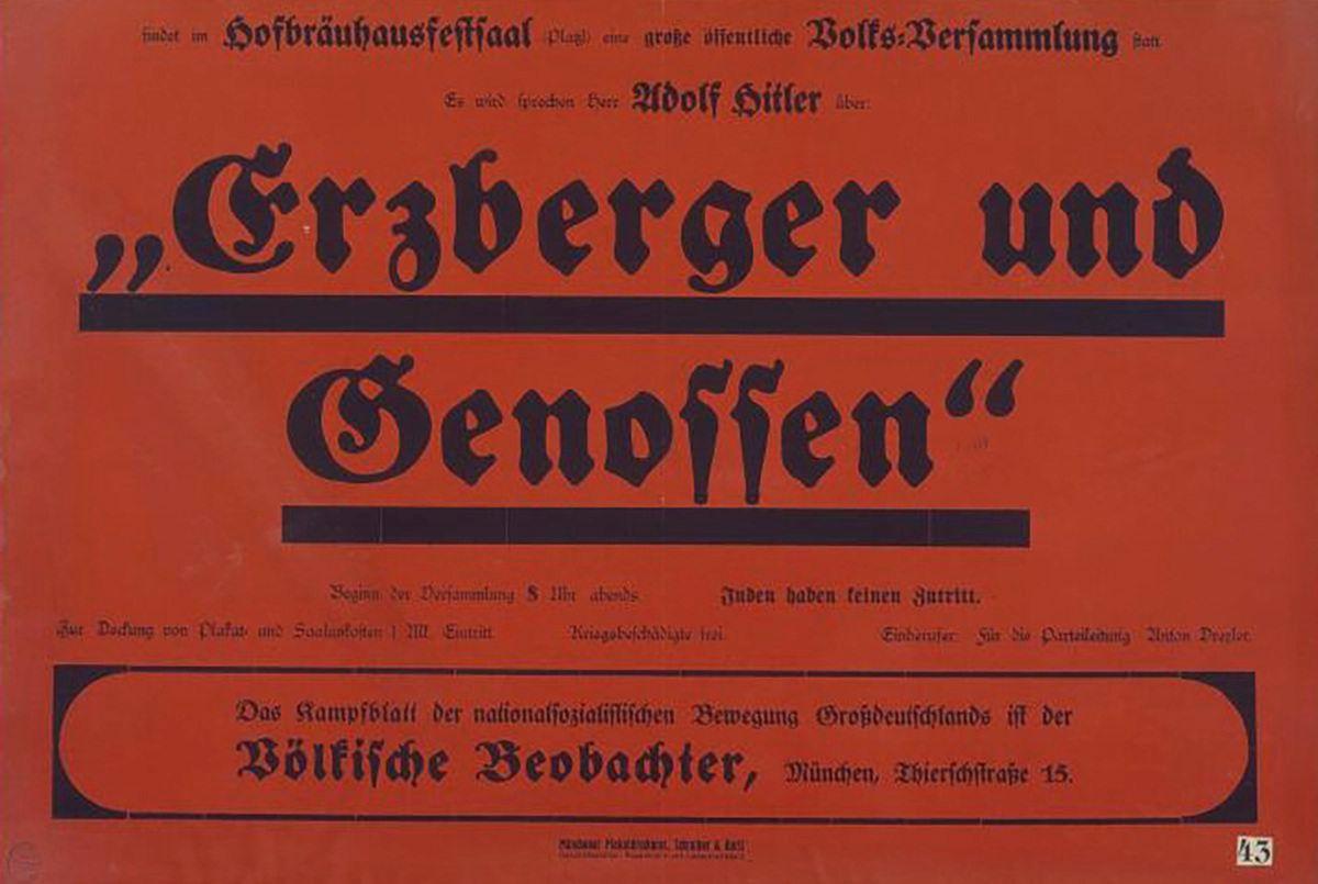 Erzberger und Genossen