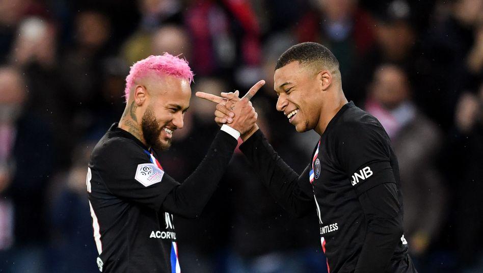 Neymar und Kylian Mbappé: Die Superstars bei PSG – auch neben dem Platz