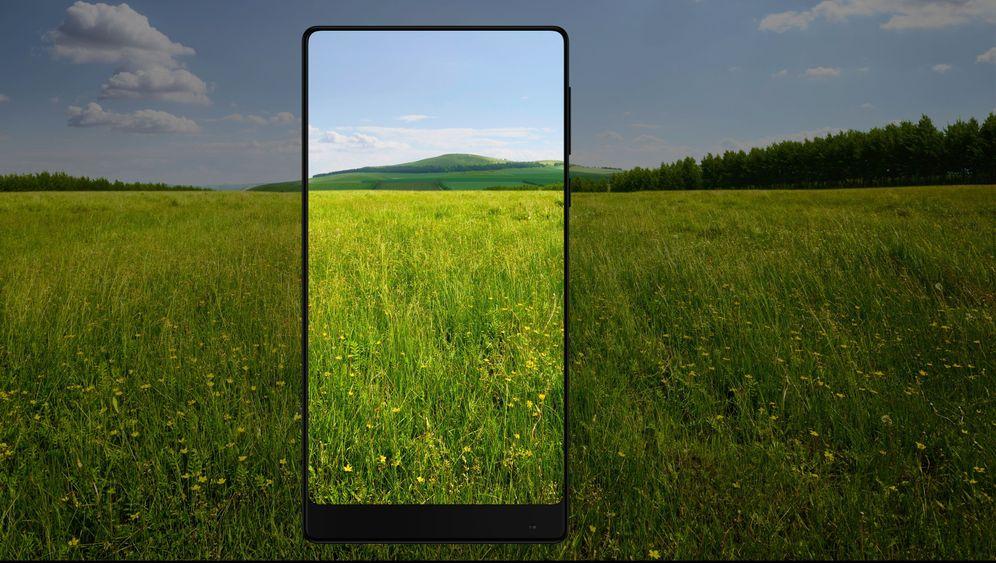 Xiaomi Mi Mix: Philippe Starck designt Smartphone fast ohne Rand