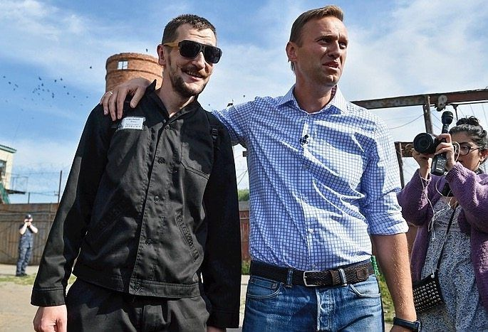 Alexei Navalny's brother Oleg was released from a Russian prison in 2018 after three and half years of incarceration.
