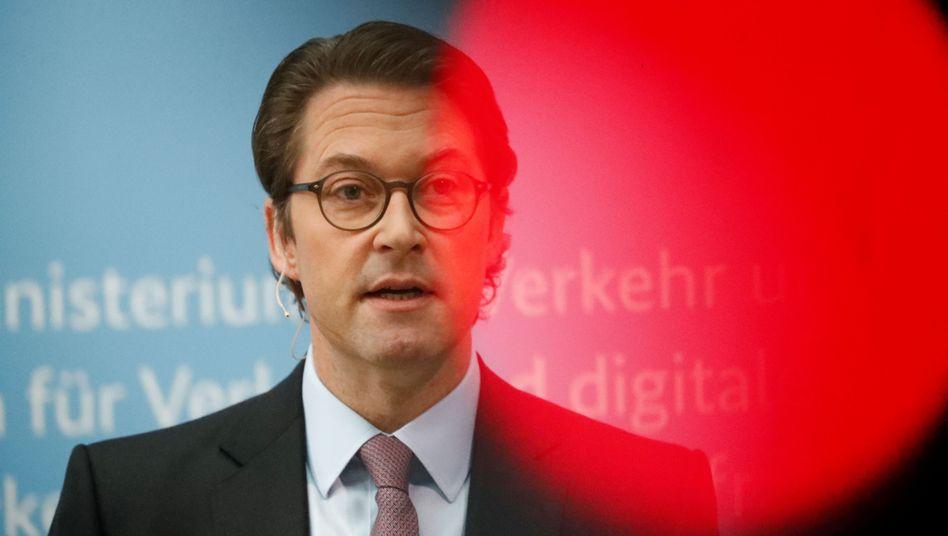 Verkehrsminister Scheuer: Vertragslage ausdrücklich zugunsten des Bundes